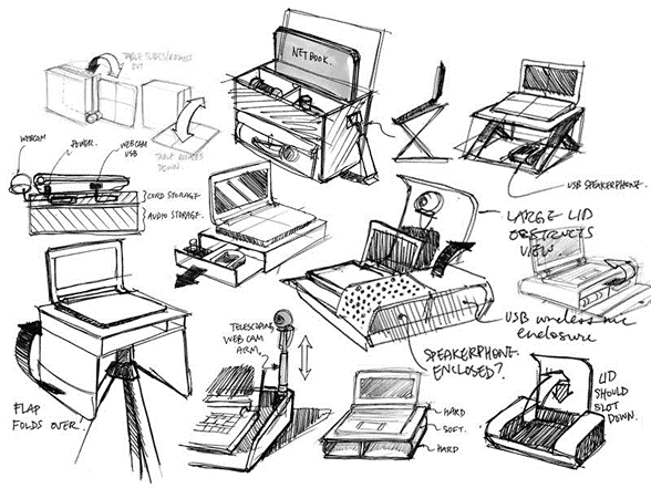 product-design-sketches